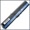 Acer AL12B32 2200 mAh 4 cella fekete notebook/laptop akku/akkumulátor utángyártott