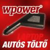 Acer Travelmate 8000 laptop autós töltő 65W + USB3.0