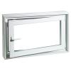 ACO MARKANT Therm hőszgetelt ablak kerettel, jobbos 100x100x20cm-es
