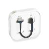Adapter: Type-C - audio adapter fekete dobozos