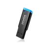 ADATA 16GB Adata AUV140 Fekete-Kék USB3.0 (AUV140-16G-RBE)