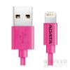 ADATA Apple iPhone rózsaszín lightning adatkábel 1M, MFI engedélyes