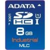 ADATA IDC3B MLC  SD Card  8GB  (-40 to +85C)