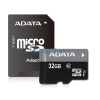 ADATA microSDHC 32GB UHS-I (Class 10) + Adapter (AUSDH32GUICL10-RA1)