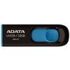ADATA Pendrive 64GB Adata UV128 Fekete-Kék USB3.0