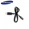 Adatkábel, microUSB, 80 cm, Samsung, fekete, gyári, ECB-DU28BE