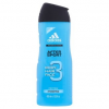Adidas After Sport Hydrating tusfürdő testre, hajra & arcra extra proteinnel 400 ml