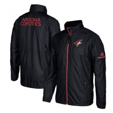 Adidas Arizona Coyotes fĂŠrfi kabát black Authentic Rink Full-Zip Jacket - L