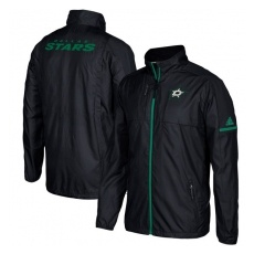 Adidas Dallas Stars fĂŠrfi kabát black Authentic Rink Full-Zip Jacket - XXXL
