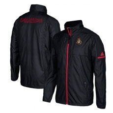 Adidas Ottawa Senators fĂŠrfi kabát black Authentic Rink Full-Zip Jacket - XL