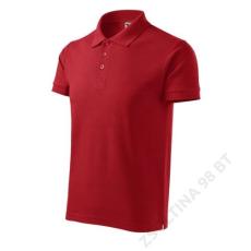 ADLER Cotton Heavy ADLER galléros póló férfi, piros