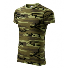ADLER Férfi terepmintás póló - Camouflage