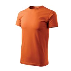 ADLER Heavy New rövid ujjú trikó, narancssárga, 200g/m2