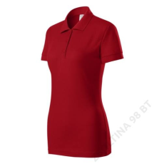 ADLER Joy PICCOLIO galléros póló női, piros
