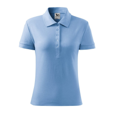 ADLER Női galléros póló Cotton Heavy - nebesky modrá / S női póló