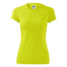 ADLER Női póló Fantasy - Neonově žlutá | M női póló