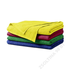 ADLER Terry Bath Towel ADLER fürdőlepedő unisex, citrom