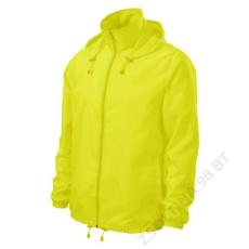 ADLER Windy ADLER széldzseki unisex, neon yellow