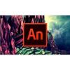 Adobe Animate Creative Cloud (Flash Pro) MP ML (CZ-vel együtt) Kereskedelmi (12 hónap) (elektronikus licenc)