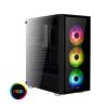 Aerocool Quartz RGB ATX Fekete Edzett Üveg (ACCM-PB07043.71)