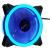 Aerocool REV BLUE DUAL RING LED ventilátor 120x120x25mm