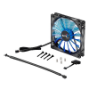 Aerocool Shark Fan 14cm Blue Edition