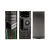 Aerocool V2X Green Edition Midi-Tower fekete/zöld (EN52667)