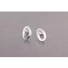 Agrianna Ezüst fülbevaló ek-e-005