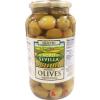 Agro sevilla zöld olívabogyó paprikás 935 g