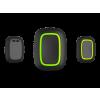 AJAX _Button_BL - Vezeték nélküli vezérlő és pánik gomb fehér (fekete)