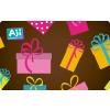 AJI feltölthetõ ajándékkártya-Bonbon