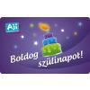 AJI feltölthetõ ajándékkártya-Torta