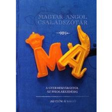 Akadémiai Kiadó MAGYAR-ANGOL CSALÁDSZÓTÁR nyelvkönyv, szótár
