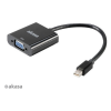 Akasa AK-CBDP07-20BK Displayport - VGA adapter