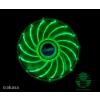 Akasa Vegas ház hűtő ventilátor zöld LED /AK-FN091-GN/ (AK-FN091-GN)
