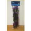 Akváriumi műnövény lilába hajló vékony szálú levelekkel (35-40 cm)