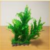 Akváriumi palás műnövény hosszú hullámos levelekkel (8.5 x 27 cm)