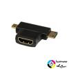 Akyga HDMI-micro+mini HDMI átalakító Akyga AK-AD-23