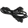 Akyga Tápkábel IEC C13 1,5m (AK-PC-01A)