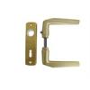 AL-LOY SB ajtókilincs 410 + ajtócím lővér kulcslyukas F3 eloxált