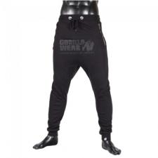 ALABAMA DROP CROTCH JOGGERS - BLACK (BLACK) [L] férfi nadrág