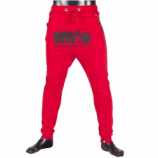 ALABAMA DROP CROTCH JOGGERS - RED (RED) [XL] férfi nadrág