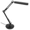 """ALBA Asztali lámpa, kompakt fénycső, 11 W, ALBA """"Fluoscope"""", fekete"""