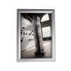 ALBA Plakáttartó, fali, A4, alumínium keret, ALBA, ezüst