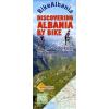 Albánia kerékpáros térkép - Huber Verlag