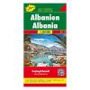 Albánia térkép / TOP 10 Tipp / freytag & berndt