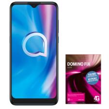 Alcatel 1S 2020 Feltöltőkártyás Mobiltelefon, Dual Sim, Zöld + Telekom Domino Quick SIM kártya mobiltelefon kellék