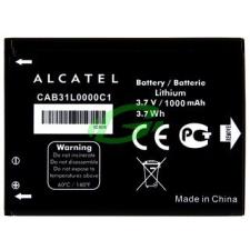Alcatel CAB31L0000C1 gyári bontott új állapotú akkumulátor Li-Ion 1000mAh mobiltelefon akkumulátor