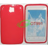 Alcatel One Touch 991 pink szilikon tok