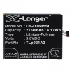 Alcatel One Touch Idol 2S (OT-6050Y), Akkumulátor, 2150 mAh, Li-Ion, TLp021A2 kompatibilis